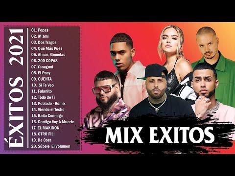 Mix Exitos 2021   Los Mejores Exitos de Farruko Nicky Jam Becky G Jay Wheeler Myke Towers