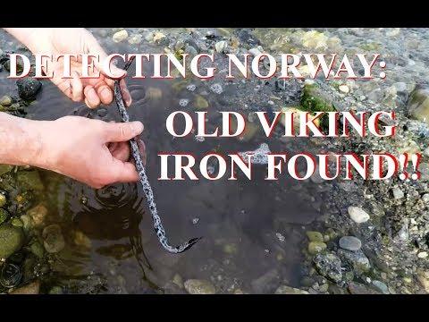 Metal detecting Norway - Old VIKING Iron