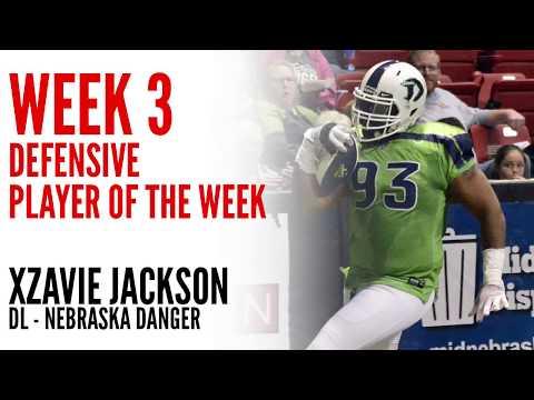 Week 3 Defensive Player of the Week: DL Xzavie Jackson