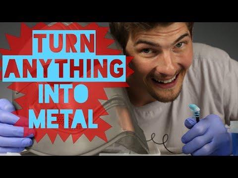 How-To Make Metal: Electroplating a 3D Printed Star Wars Helmet