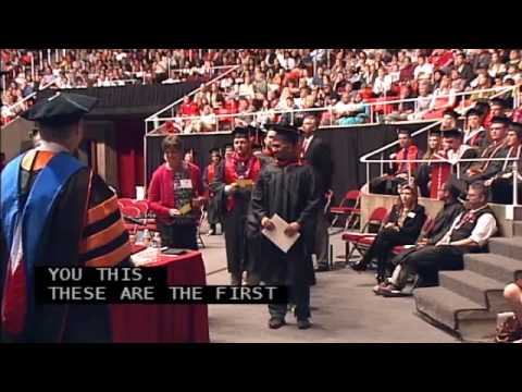 College Of Engineering Convocation - May 2, 2014 at the University of Utah