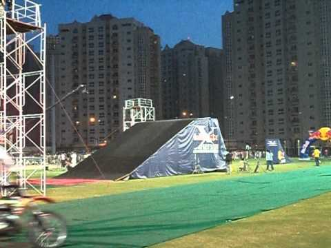 Redbull X-Fighters Jam in Pakistan live At Moin khan Stadium Karachi(part 1)