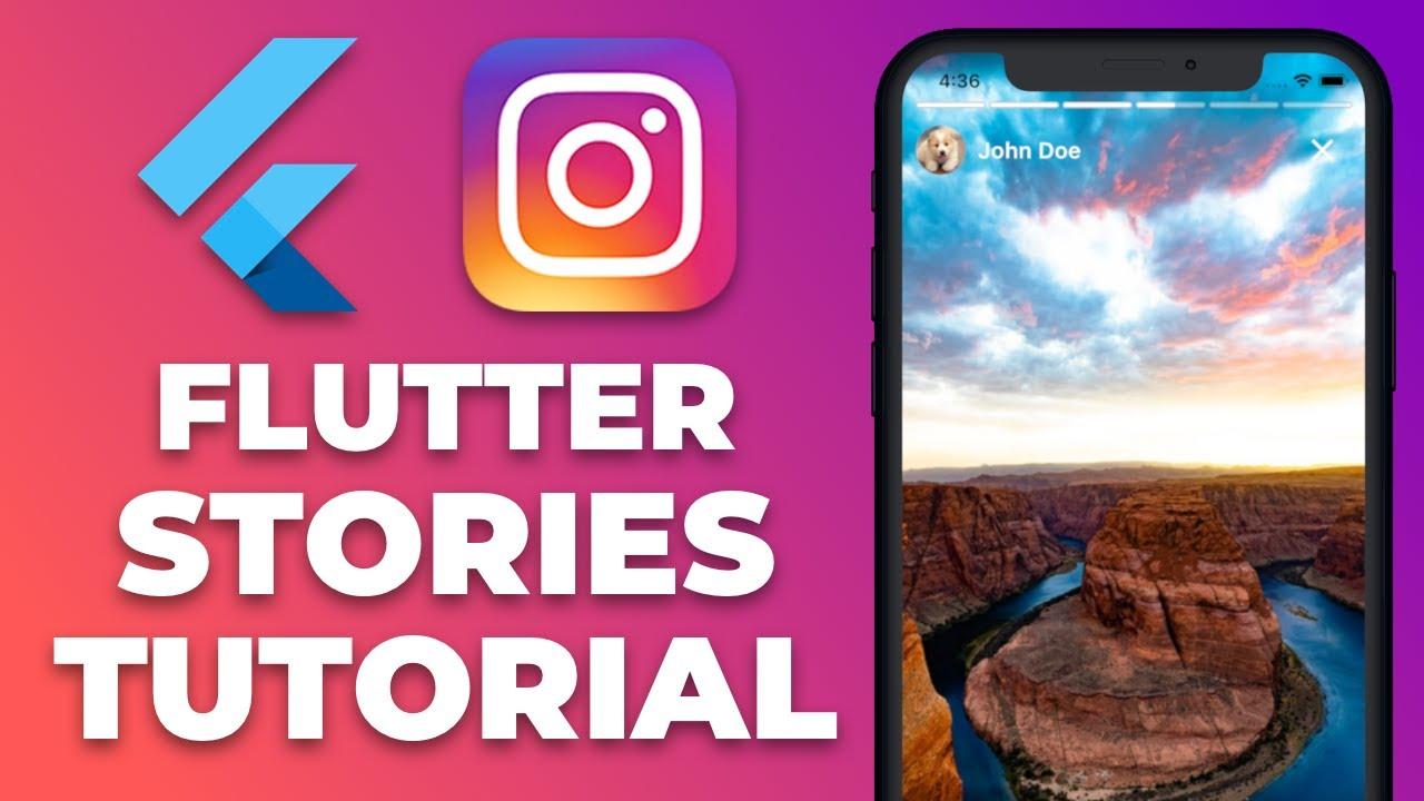 Flutter Instagram Stories Tutorial