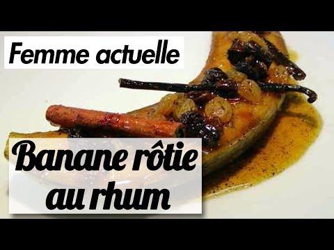 banane-flambée---recette-facile