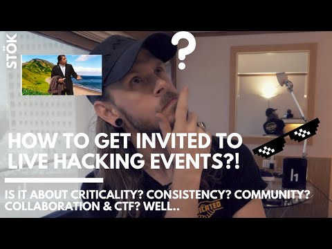 How to get invited to Hackerone BUG BOUNTY live hack events!