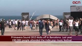 Primavera Sound is back with an impressive line-up and more than 190,000 fans expected in Barcelona