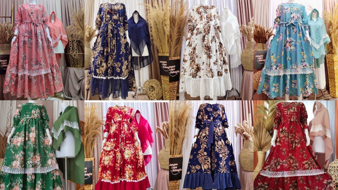 45 Review Model Baju Gamis Terbaru 2020 Dan Harganya Gratis Hijab Youtube