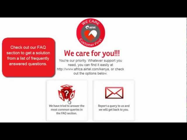 Airtel Kenya contacts: HR, customer care, and offices