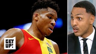 Giannis isn't an MVP-caliber player - Ryan Hollins | Get Up!