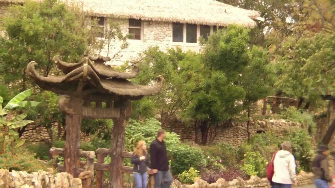 Japanese Garden in San Antonio - YouTube
