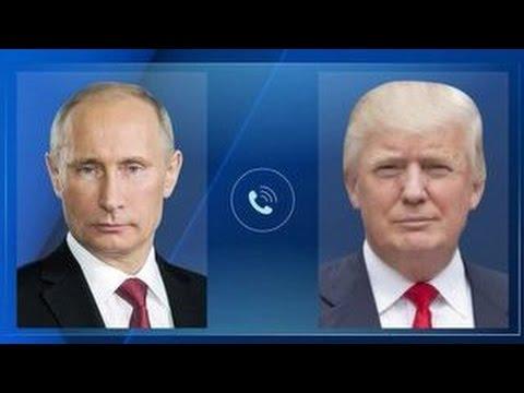 Владимир Путин и Дональд Трамп провели первый телефонный разговор