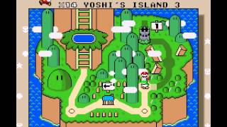 Super Mario World - Super Mario World on Vizzed (World 1) - User video