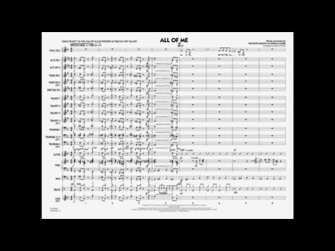 All of Me arranged by Rick Stitzel
