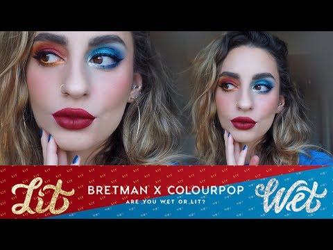 Colourpop x Bretman Rock: Swatches & Demo!