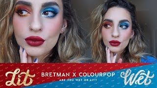 Colourpop x Bretman Rock: Swatches & Demo!