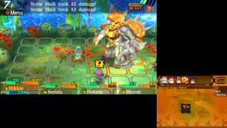 Etrian Mystery Dungeon 1st Boss Stone Hulk