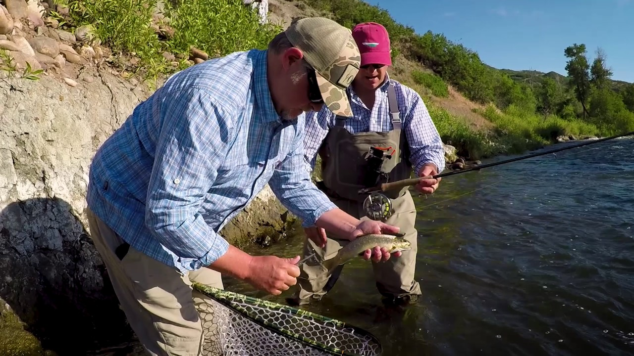 Park city first timers fly fishing youtube for Park city fly fishing