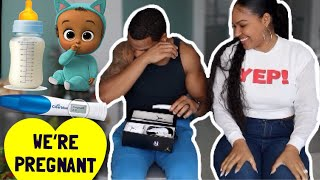 Finding Out I'm Pregnant + Telling My Husband! Emotional With Tears
