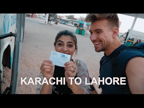 HITCHHIKING KARACHI TO LAHORE WITH NO MONEY (SCARY OR SAFE?) 🇵🇰