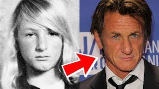 Sean Penn From 14 to 57 years old
