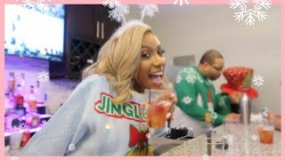 IT WENT DOWN AT THE CHRISTMAS SWEATER PARTY! SO LIT!
