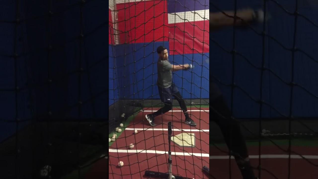 2022 Shortstop Justin Hernandez@Harlem baseball hitting Academy