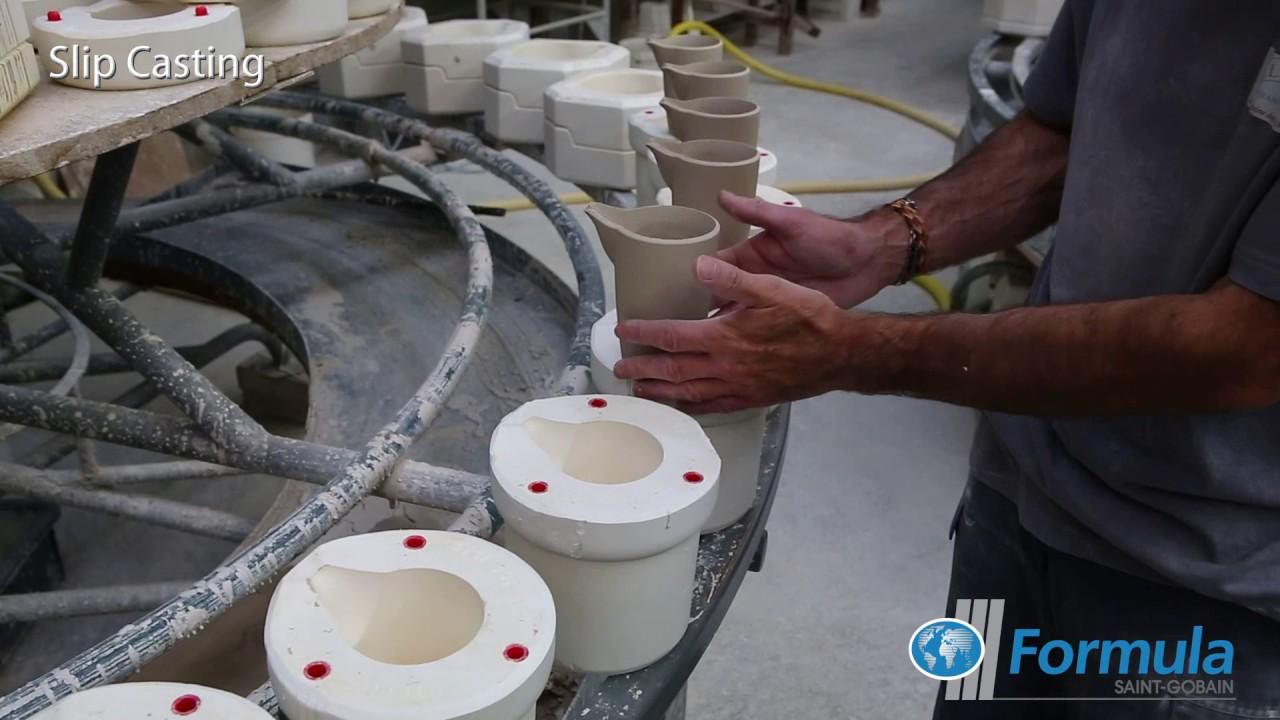 Saint Gobain Formula Ceramic Tableware Manufacture Slip