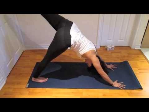 beginner pigeon pose piriformis stretch/hip opener  youtube