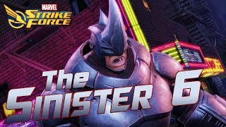 The Sinister Six are coming to MARVEL Strike Force!