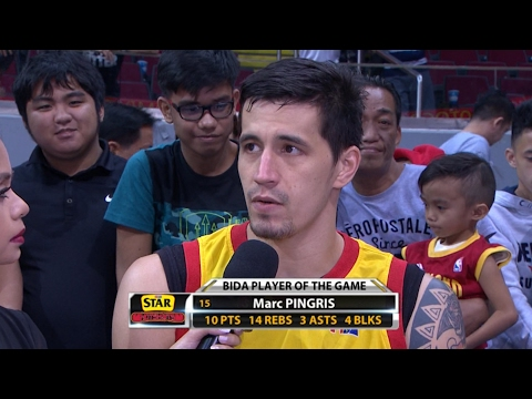 Best Player: Marc Pingris  | PBA Philippine Cup 2016 - 2017