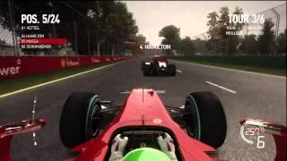 Gameplay F1 2010 (Xbox 360) - Vidéo 1