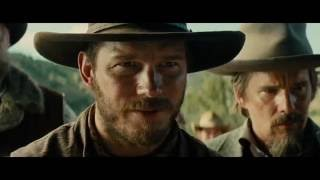 Chris Pratt and Denzel Washington star in The Magnificent Seven