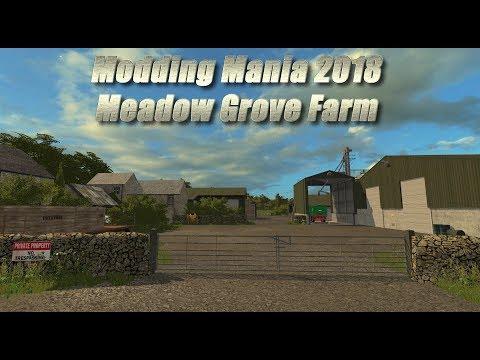 Modding Mania ¦ Meadow Grove Farm ¦ Farming Simulator 17 first look