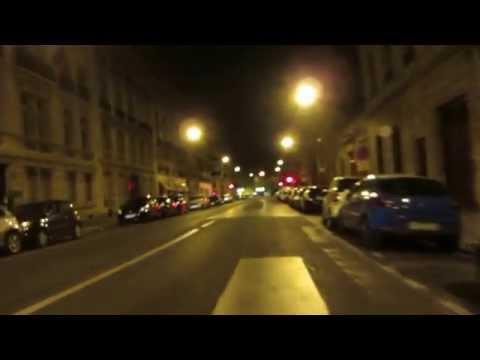 Cycling in Paris by Night: Quai Voltaire _ Rue de Solferino