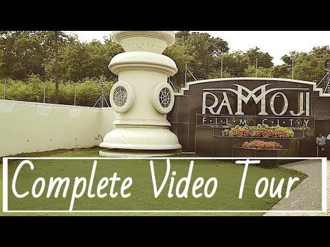 Ramoji Film City, Hyderabad  ✦ explore World Largest Film City ✦ With Baahubali Set ✔
