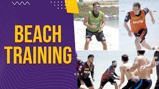 KKR Beach Training   Fun Drills   Abu Dhabi   IPL 2021