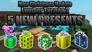 New presents & Whats in them? : Lumber Tycoon 2 : RoBlox