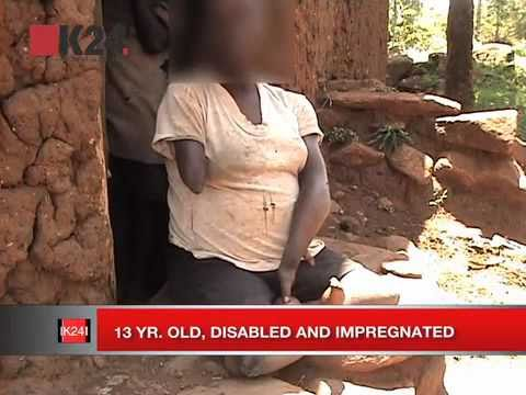 13 year old disabled girl impregnated