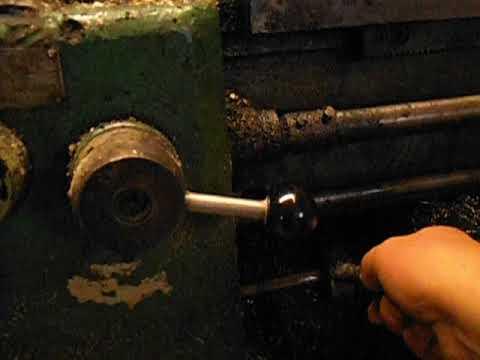 Органы управления  токарного станка 1М61 .