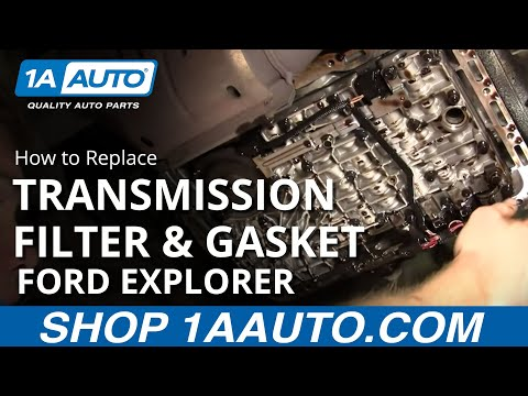 How to Replace Transmission Filter & Gasket Set 95-03 Ford Explorer