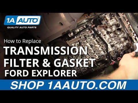 Auto Repair: Fix Transmission Shift Problem Ford 5R55E
