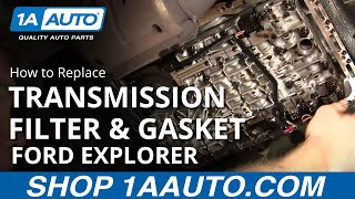Auto Repair: Fix Transmission Shift Problem Ford 5R55E Explorer BUY QUALITY AUTO PARTS AT 1AAUTO.COM(https://www.1aauto.com/transmission-filter-and-gasket-set/i/1atrx00001/?utm_source=YouTube&utm_medium=description&utm_campaign=videodesc Ford ..., 2011-12-07T23:12:33.000Z)