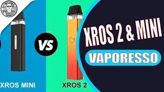 Vaporesso XROS 2 & XŔOS MINI Старший брат и их братишка