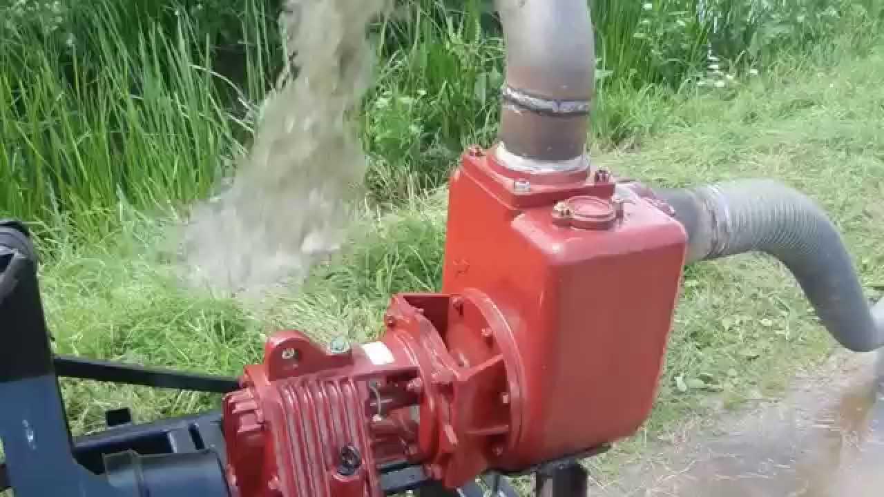 pompa per trattore per irrigazione carrellabile serie ca