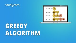 Greedy Algorithm   What Is Greedy Algorithm?   Introduction To Greedy Algorithms   Simplilearn