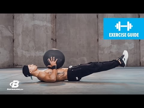 V-Sit Lying Down Ball Throw and Catch | Exercise Guide