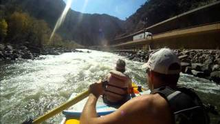 One of the Shoshone Rapids - Colorado River - Glenwood Canyon, CO