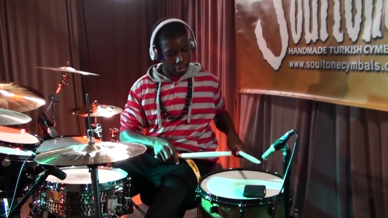 rihanna - shut up and drive drum cover by branden akinyele