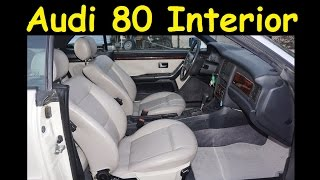 classic audi 80 cabriolet interior review video for sale collectible
