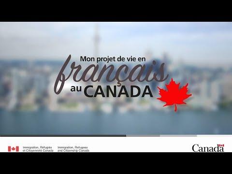 Mon Projet De Vie En Français Au Canada